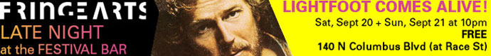 Fringe Arts Gordon Lightfoot