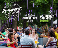 Spruce Street Harbor Park Waterfront Drinking rectangle