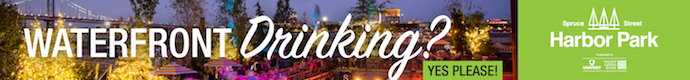 Spruce Street Harbor Park Waterfront Drinking - header