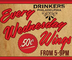 Drinker's Wing Wednesday rectangle