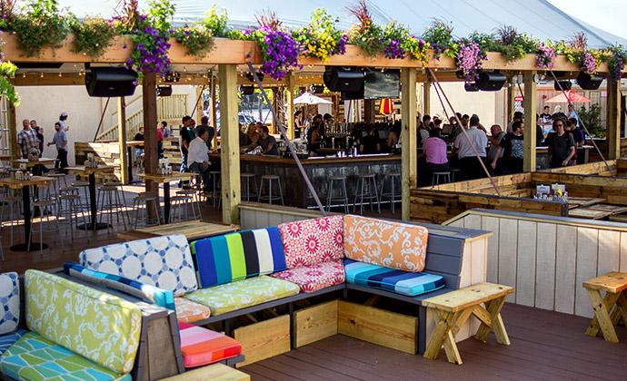 Morgan S Pier 221 N Columbus Blvd 215 279 7134 Mor - indoor beer garden design ideas