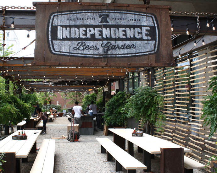 Check Out What S On Tap For Independence Beer Garden S Debut Drink Philly The Best Happy