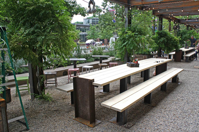 The Newest Beer Garden In Town Philadelphia