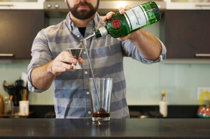 Step 1 of 7: Add 2 dashes orange bitters - Drink Philly ...