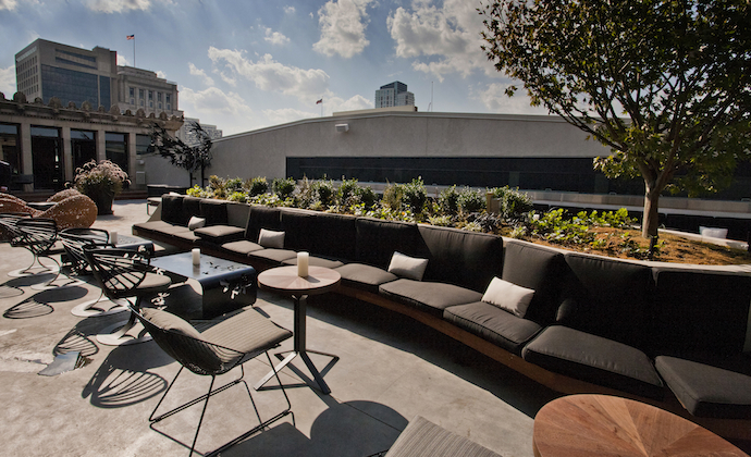 Stratus Rooftop Lounge 10/38 The rooftop bar on the 11 ...