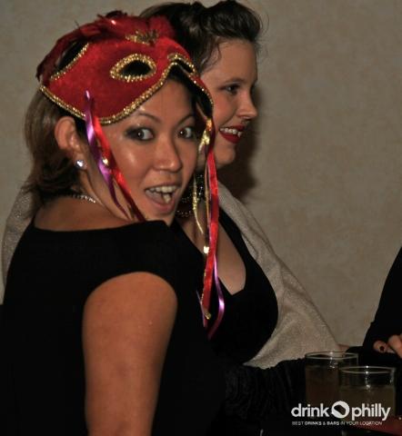 Recap: Drink Philly s New Year s Eve Midnight Masquerade (Ph