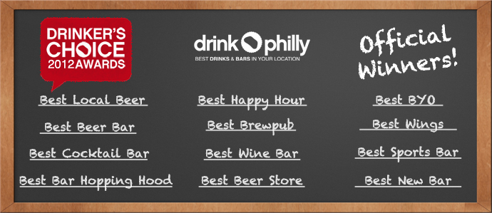 2012 Drinker's Choice Award Winners