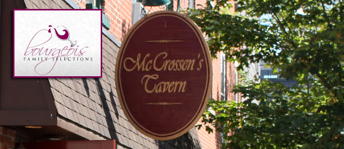 Late Night Wine Happy Hour at McCrossen's Tavern, 9/7