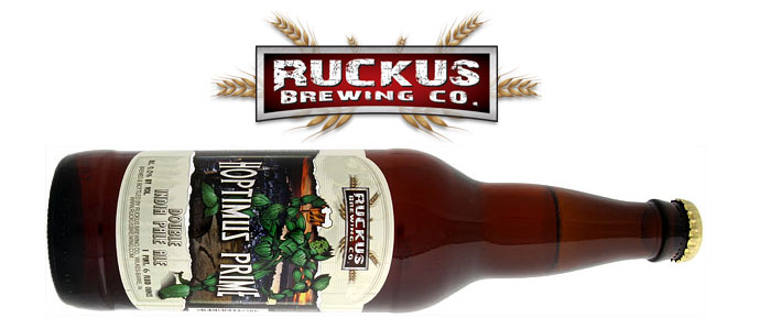 Beer Review: Hoptimus Prime from Ruckus Brewing Co.
