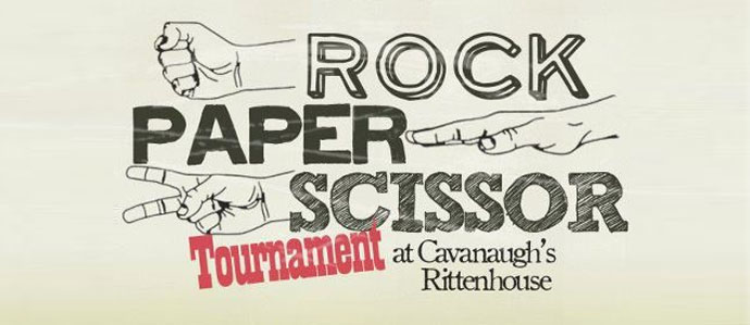 Wed Night Rock, Paper, Scissors Tournament at Cav's Rittenhouse