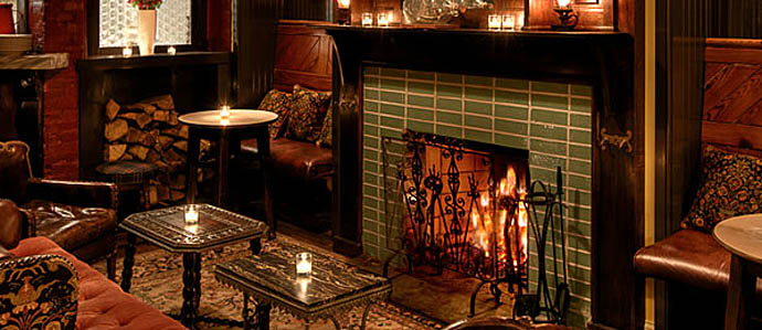 10 Philly Bars with Fireplaces
