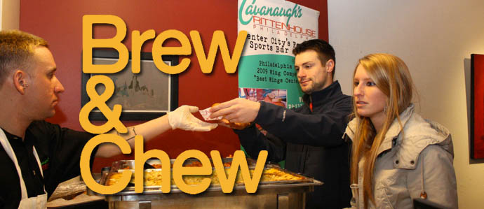 December Brew & Chew at Cavanaugh's Rittenhouse