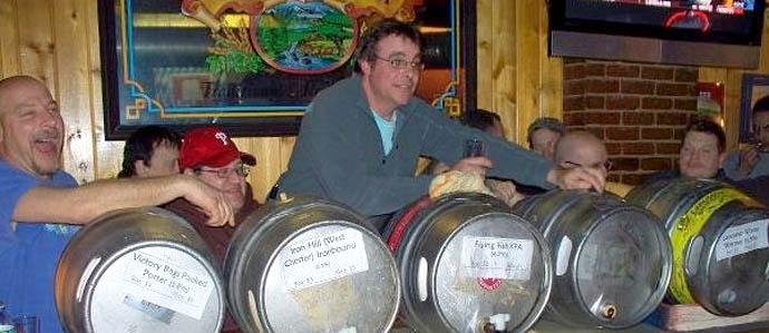 Friday the Firkinteenth at Grey Lodge Pub