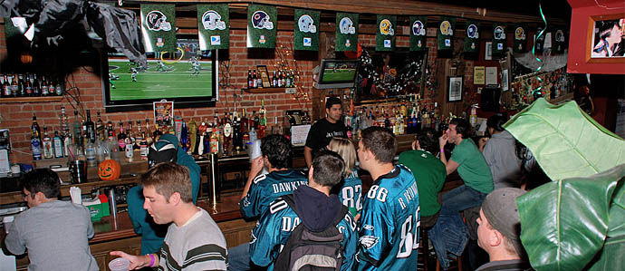 Bars in Philadelphia to Watch the 2012 NFL Playoffs