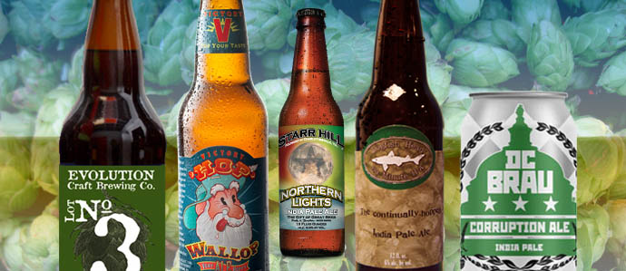 IPA Face-Off: Five of the Best in the Mid-Atlantic