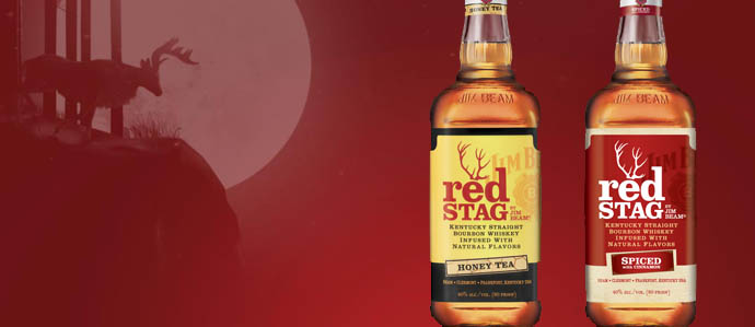 Spirit Review: Jim Beam Red Stag Spiced & Honey Tea