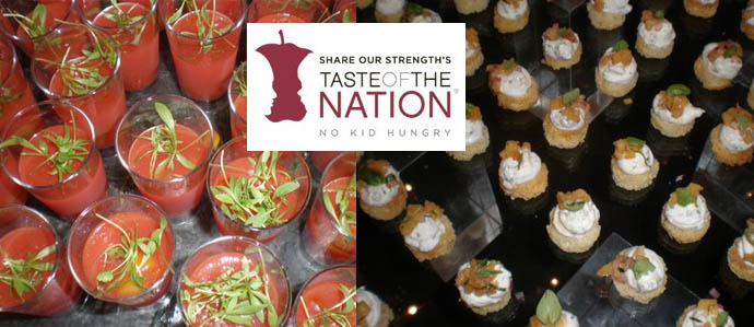 Eat, Drink & Help Hungry Kids at Taste of the Nation, May 7