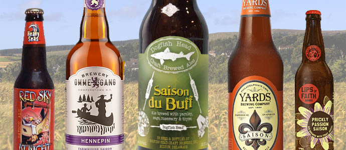 American Saisons: 5 Beers for Spring