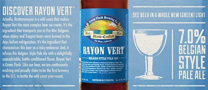 Beer Review: Green Flash Rayon Vert