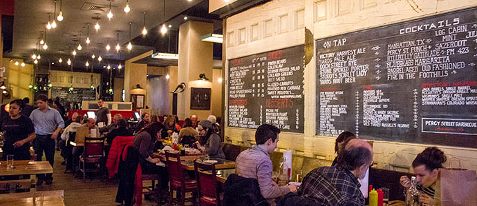 Percy Street BBQ Named America's No. 1 Craft Can Beer Bar