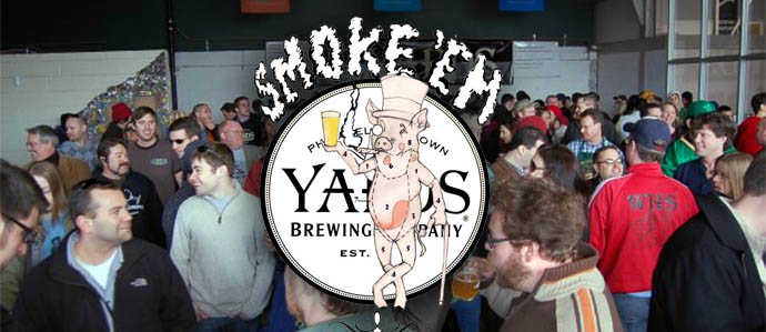Tickets on Sale for Yards Brewing Smoke 'Em if Yous Got 'Em, Sept 23