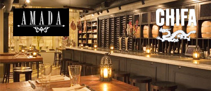 Amada and Chifa Launch New Happy Hour Specials