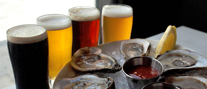 Oyster House Offers Free Brunch Sliders With Hill Farmstead Beer, Sept. 8