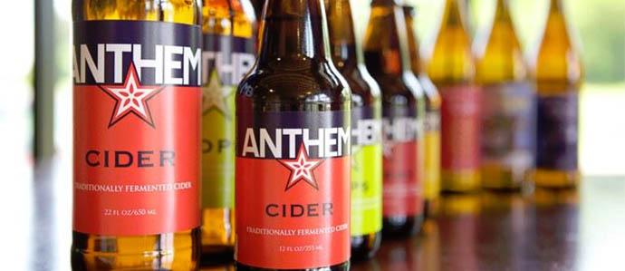 Cider Review: Anthem Hops
