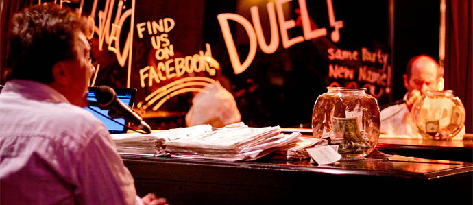 Duel Brings a Revival to Philly's Piano Bar Scene