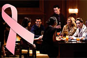 Four Seasons Swann Lounge Pheeling Hope for Breast Cancer Awareness Month