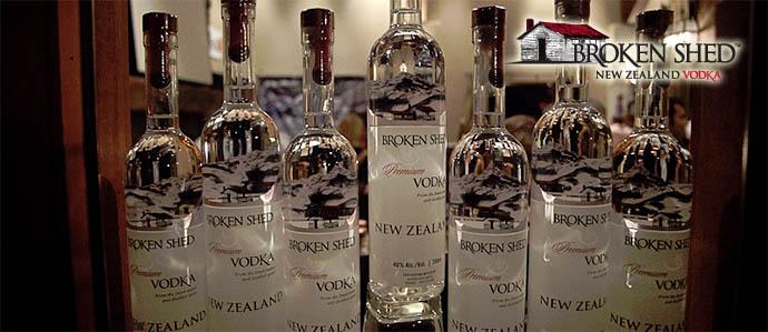 Spirit Review: Broken Shed Vodka