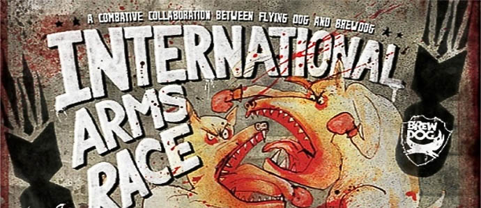 Beer Review: Flying Dog-BrewDog International Arms Race (U.S. Version)