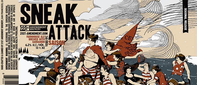 Brewer Interview: 21st Amendment on Sneak Attack, Oysters and More