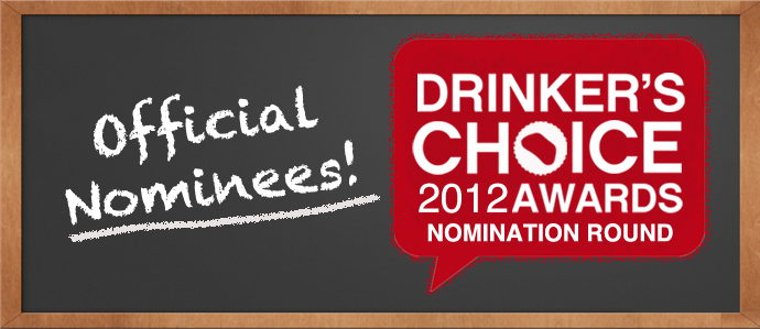 2012 Drinker's Choice Nominees