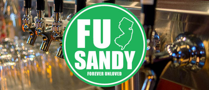 Flying fish brewing to release f u sandy beer for for Flying fish happy hour