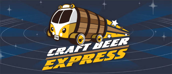 Ride the Craft Beer Express for a Day Full of Beer, March 8