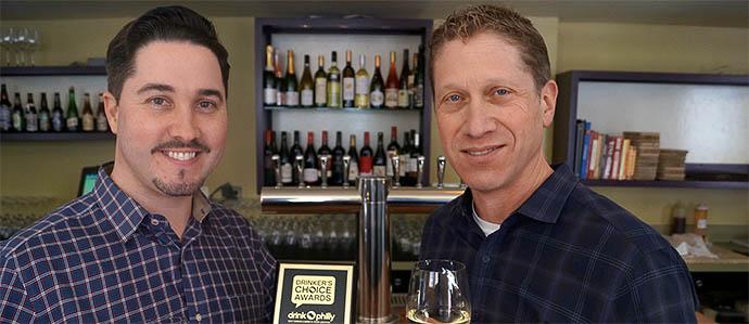 Tria: 2013 Drinker's Choice Award Winner, Best Wine Program