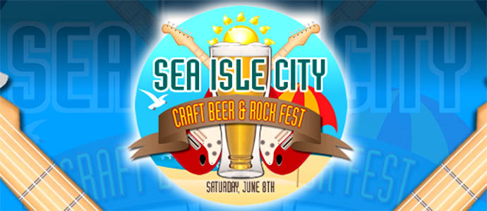 Sea Isle City Craft Beer and Rock Festival, June 8