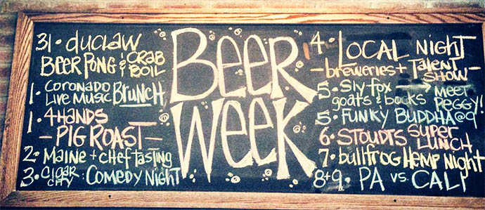 Bainbridge Street Barrel House Rocks 11 Philly Beer Week Events
