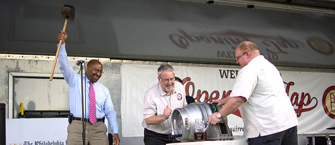 Hammer of Glory Relay and Where to Go and What to Drink for Beer Week's First Weekend
