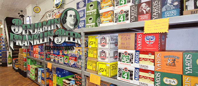 Benjamin Franklin Beer Distributors Opens in Old City