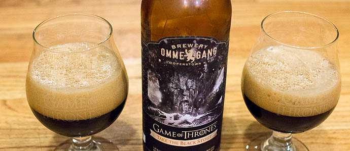 Beer Review: Ommegang Take the Black Stout, the Second Game of Thrones Beer