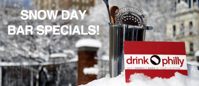 Snow Day: Bars Open in Philadelphia and Offering Specials