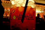 Continental Restaurant & Martini Bar Rolls Out a New Cocktail List