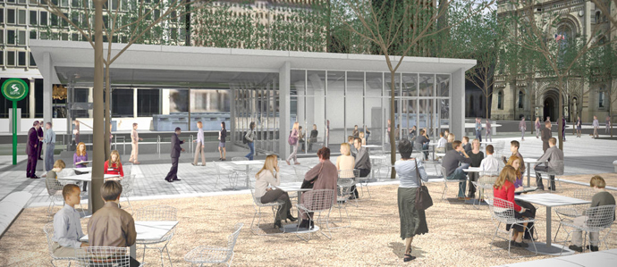 Garces Opening a Rosa Blanca Cafe at Dilworth Plaza