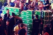 High-Roller Blows $80K at a Vegas Club to Construct a VIP Section Made of Beer