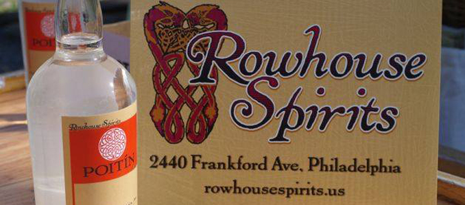 Craft Distilling Startup Rowhouse Spirits Begins Selling Its Booze in Kensington