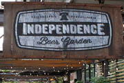 Independence Beer Garden Does 'Pinchers, Suds & Gridiron' for Monday Night Football