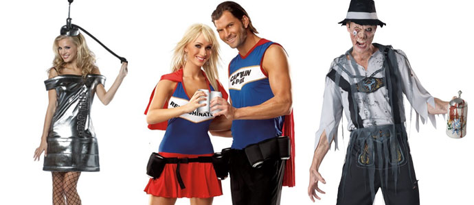 Get Your Drink On with These Beer Themed Halloween Costumes