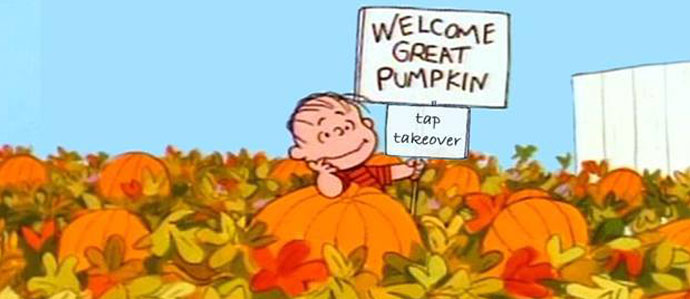 The Great Pumpkin Tap Takeover at Bainbridge Street Barrel House, Oct. 15